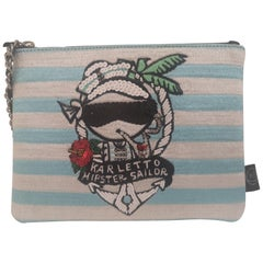 House of muamua Karletto hipster sailor zip pochette