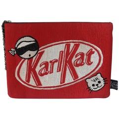 House of muamua Karlkat zip pochette