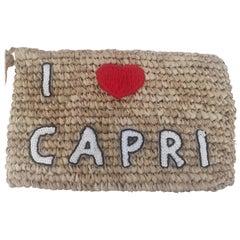 House of Muamua rafia I love Capri