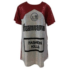 House of Muamua sequins dress