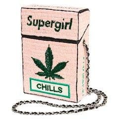 House of Muamua Supergirl Chills cigarette bag
