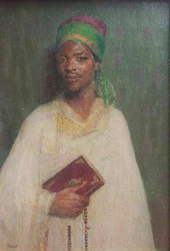 The Reader of the Koran, exotic orientalist work