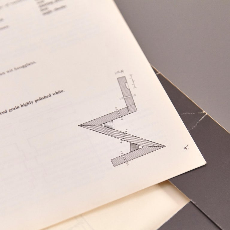 German How to Construct Rietveld Furniture Book For Sale