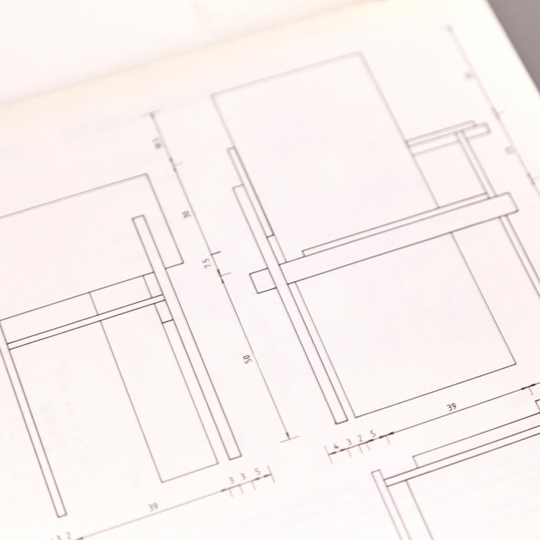How to Construct Rietveld Furniture Book For Sale 1