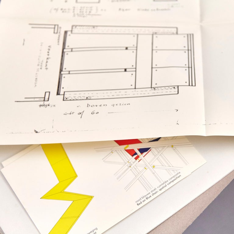 How to Construct Rietveld Furniture Book For Sale 2