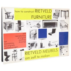 How to Construct Rietveld Furniture Book