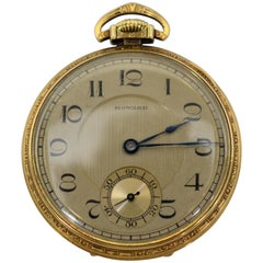 Howard 17 Jewel Pocket Watch in Original Box