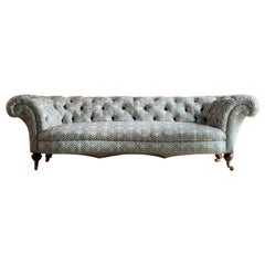 Howard and Sons Chesterfield Sofa, 19th Century, circa 1850