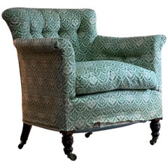 Howard and Sons 'Woodstock' Armchair Bergère 19th Century, circa 1890
