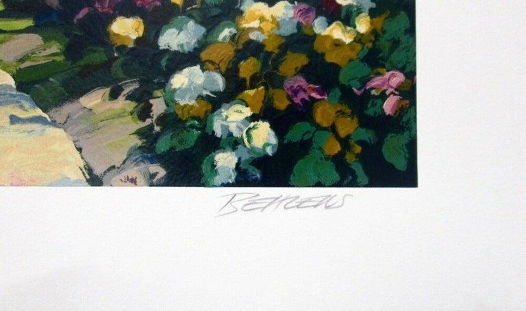 Las Brisas II, Limited Edition Silkscreen, Howard Behrens - Black Figurative Print by Howard Behrens