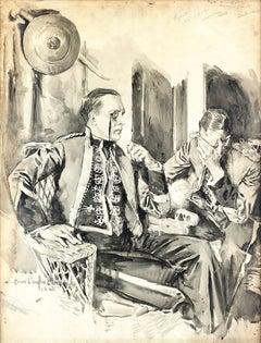 1920s Interior Paintings