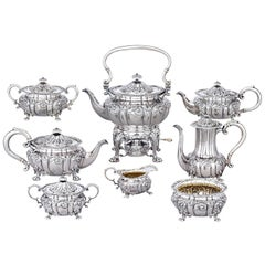Howard & Co. Eight-Piece Sterling Silver Tea and Coffee Set