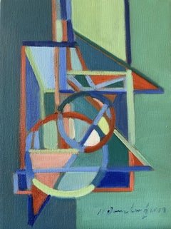 Interplay, Painting, Oil on Canvas