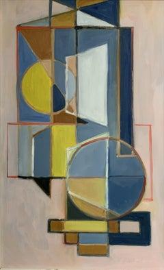 Lyrical Balance, Painting, Oil on MDF Panel