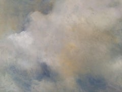 Moody Sky No 4, Painting, Oil on MDF Panel