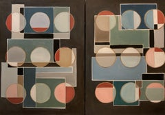 Novo Spheres in Harmony, Painting, Oil on Canvas