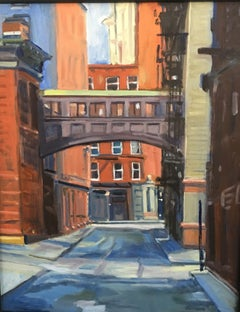 Pass Through Tribeca, Painting, Oil on MDF Panel