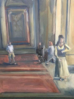 Rehearsal, Painting, Oil on MDF Panel