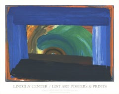 1995 After Howard Hodgkin 'Gossip' Abstract USA Serigraph