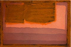 Bed - Howard Hodgkin, Prints, Aquatint, Hand-colouring, Abstract art