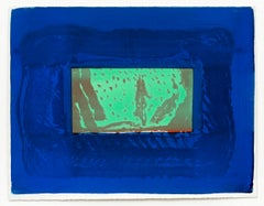 Birthday Party -- Print, Lithograph, Contemporary Art by Howard Hodgkin