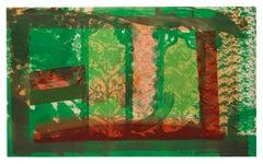 Bleeding - Howard Hodgkin, Abstract Prints, Lithograph, Contemporary Art, Prints