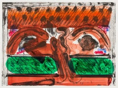 DH in Hollywood -- Print, Etching, Contemporary by Howard Hodgkin