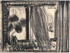 Late Afternoon in the Museum of Art, Abstract Etching by Howard Hodgkin