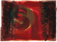 Red Listening Ear, Howard Hodgkin