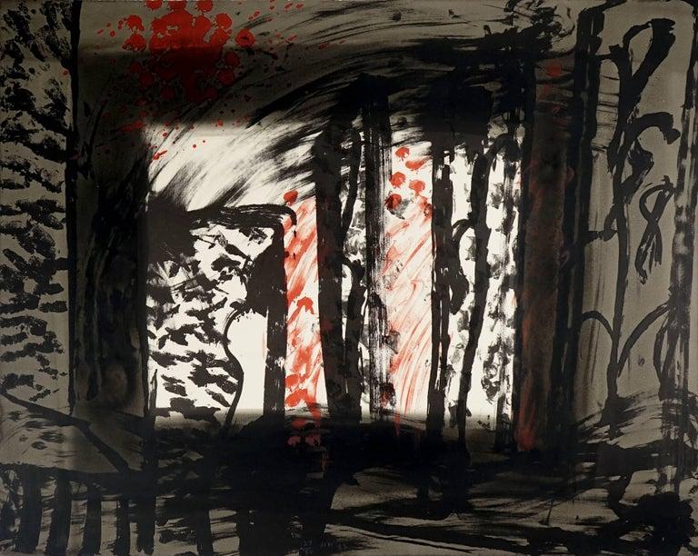 Howard Hodgkin Abstract Print - Sand