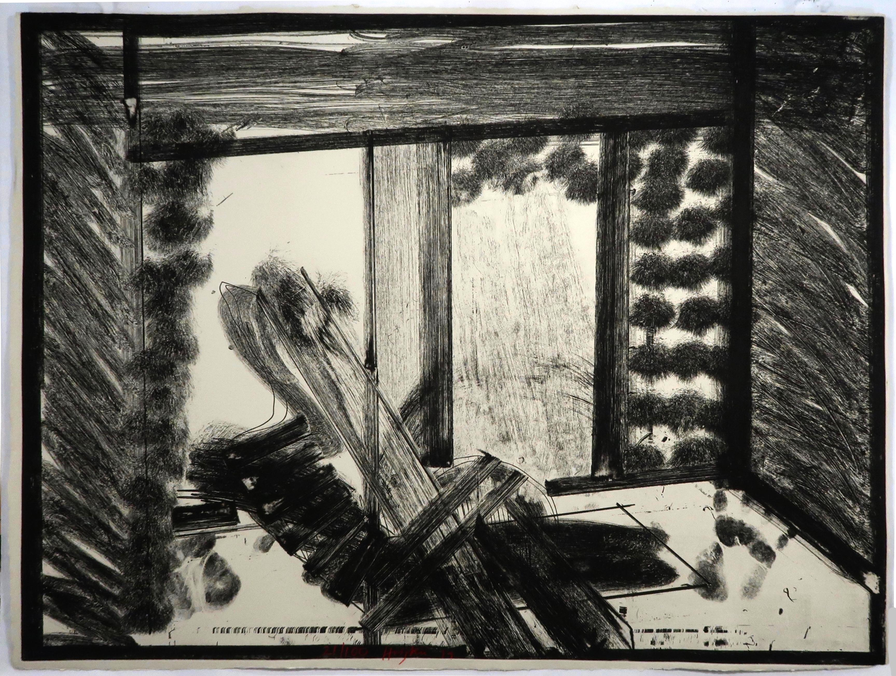 Thinking Aloud in the Museum of Modern Art, Hodgkin, abstract black and white