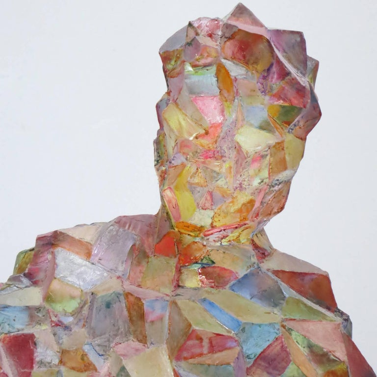 Joseph - Gray Abstract Sculpture by Howard Kalish