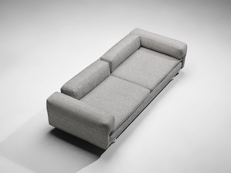 Howard Keith Grand 'Diplomat' Sofa in Grey Upholstery For Sale 2