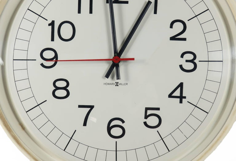 Howard Miller Wall Clock For Sale At 1stdibs