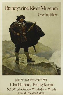 Poster (Reproduction). Brandywine River Museum. Howard Pyle & Students