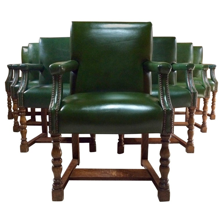 Boardroom Furniture For Sale: Howard And Sons Armchair Boardroom Dining Library