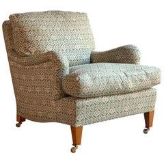 Howard & Sons Bridgewater Armchair Deep Seated Loose Cushion Chair 2009