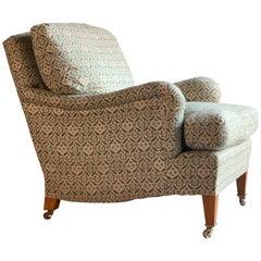 Howard & Sons Bridgewater Armchair Deep Seated Loose Cushion Chair, 2009
