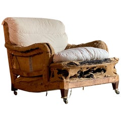 Howard & Sons Bridgewater Armchair Original, circa 1930s