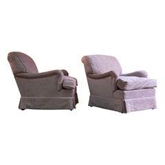 Pair of Howard & Sons Bridgewater Armchairs Matching Deep Seated 2014 Number 4