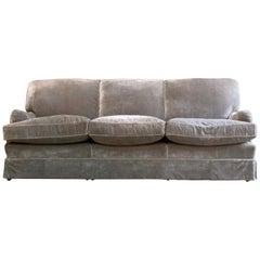 Howard & Sons Bridgewater Sofa Deep Seated Loose Cushion Bespoke 2014 Number 1