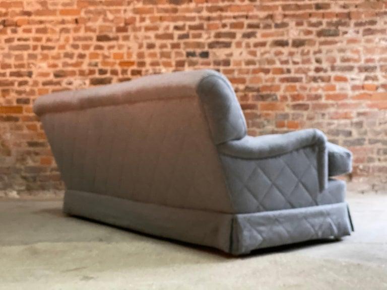 Howard & Sons Bridgewater Sofa Deep Seated Loose Cushion Bespoke 2014 Number 2 For Sale 1