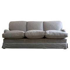 Howard & Sons Bridgewater Sofa Deep Seated Loose Cushion Bespoke 2014 Number 2