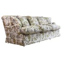 Howard & Sons Bridgewater Sofa Deep Seated Loose Cushion Bespoke 2014 Number 3