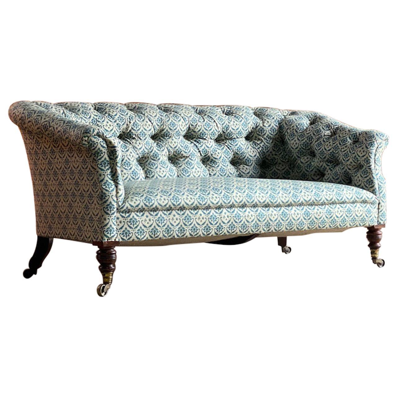 Howard & Sons Chesterfield Sofa 19th Century circa 1850 No: 2