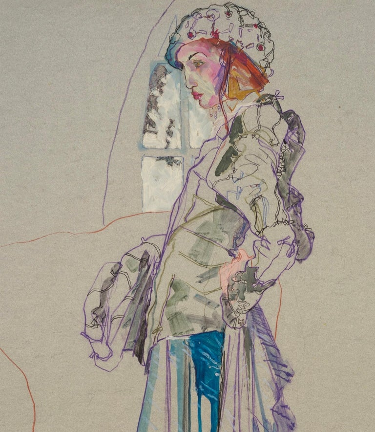 Howard Tangye (b.1948, Australia) has been an influential force in fashion for decades. Lecturing at London's Central Saint Martins for 35 years, including 16 years as head of BA Womenswear. There, he tutored many contemporary greats, including John
