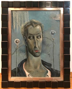 Modernist Portrait of actor Vincent Price