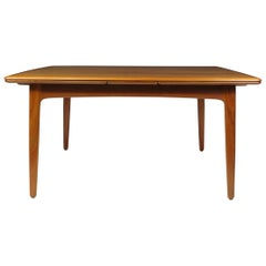 HP Hansen Teak Draw-Leaf Dining Table