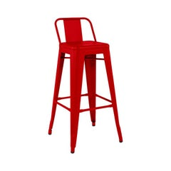 HPD 75 Outdoor Stool in Chili Pepper by Tolix, US