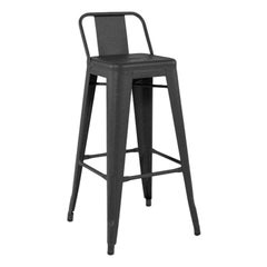 HPD 75 Outdoor Stool in Graphite by Tolix, US